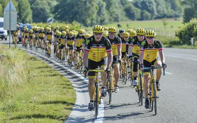Team Rynkeby pyöräilee lasten hyväksi