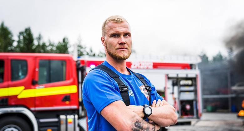 Suomen paras palomies -voittaja: Viisi parasta asiaa työssäni