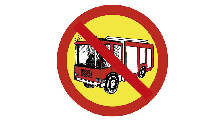 Palomiestä ei voi hyllyttää lyhyen ajokiellon vuoksi