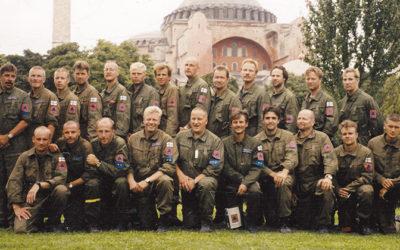 """""""Ensimmäinen iso keikka"""" – Turkin FRF-komennuksesta 20 vuotta"""