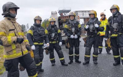 Oma kurssi yli viisikymppisille palomiehille