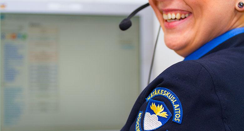 Päivystäjänä Hätäkeskuslaitoksen johtokeskuksessa