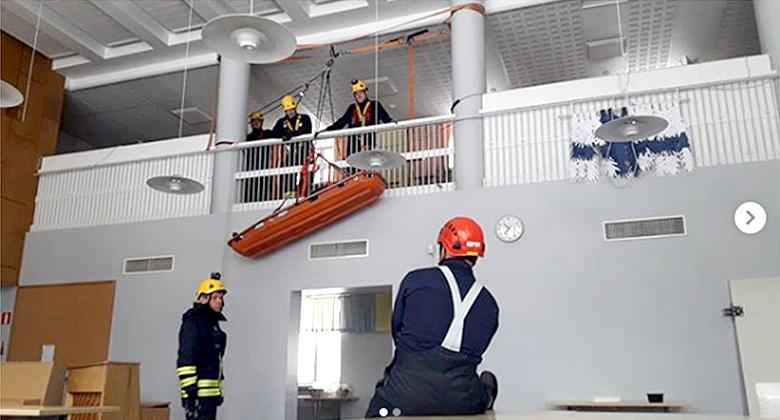Päiväpaloasemien palomiehet vuorokausityöhön Kainuussa