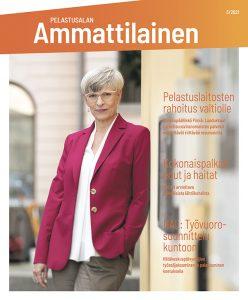 Pelastusalan ammattilainen 3/2021 -lehden kansi